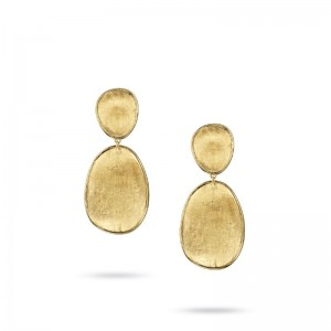 Marco Bicego 18K Yellow Gold Lunaria Drop Earrings