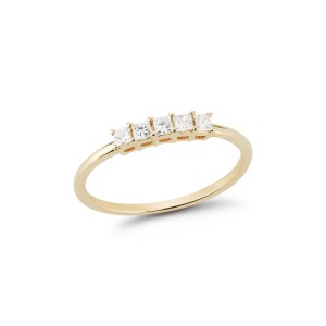 Dana Rebecca Millie Ryan Princess Cut Ring