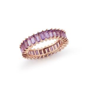 Dana Rebecca Kristyn Kylie Baguette Gemstone Ring