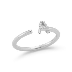 Dana Rebecca Single Initial Ring