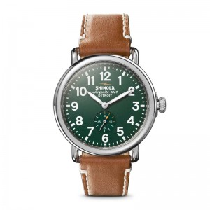 Runwell 41mm, Brown Leather Strap Watch