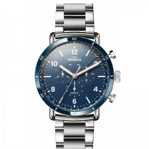 Canfield Sport 45MM, Silver Bracelet Watch
