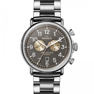 Runwell Chrono 47mm Silver Bracelet