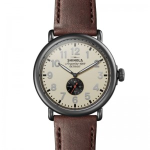 Runwell Sub Second 47mm, Cattail Leather Strap