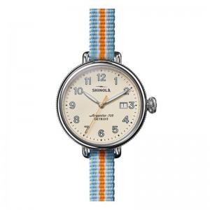 Birdy 38MM, Nylon Strap Watch