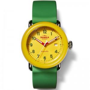 Detrola 38MM, Silicone Strap Watch