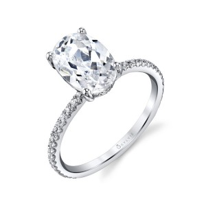 Sylvie Diamond Prong Ring Setting