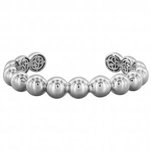 PDC SS Multi Silver Ball Cuff