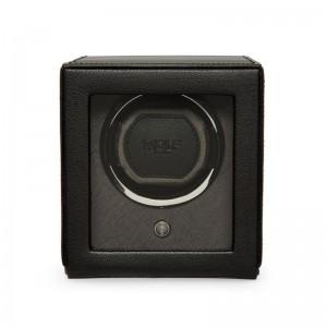 WOLF1834 Single Cub Watch Winder In Black