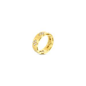 Roberto Coin YELLOW GOLD .45CTW DIAMOND VERONA RING