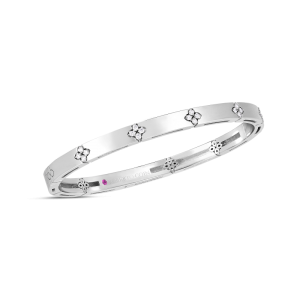 Roberto Coin White Gold Diamond Verona Bangle