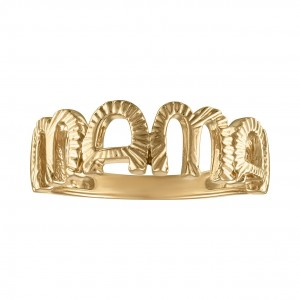 My Story 14K Gold MAMA Ring