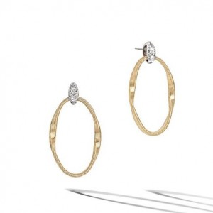 18K Yellow Gold Marrakech Onde Earrings