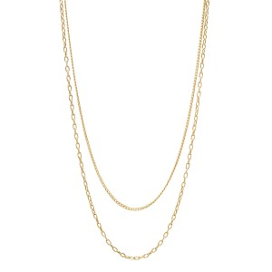 Zoe Chicco Layered Necklace 18-19-20