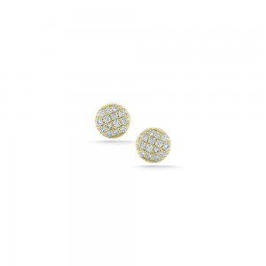 Dana Rebecca Lauren Joy Mini Disc Studs