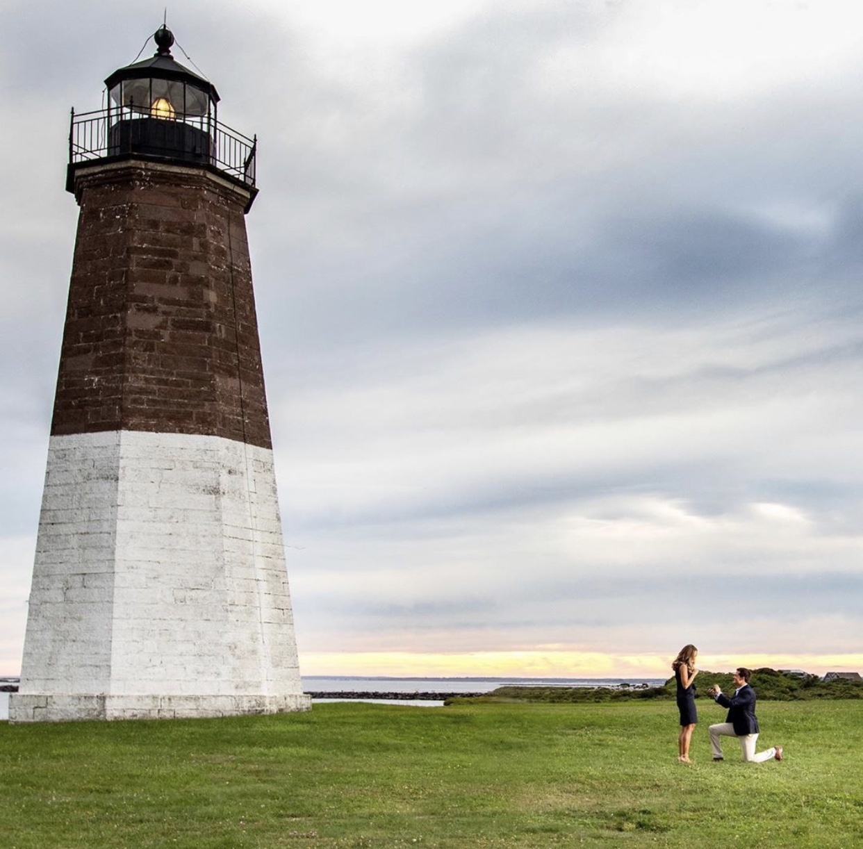 Victoria & Brad - Lighthouse Proposal
