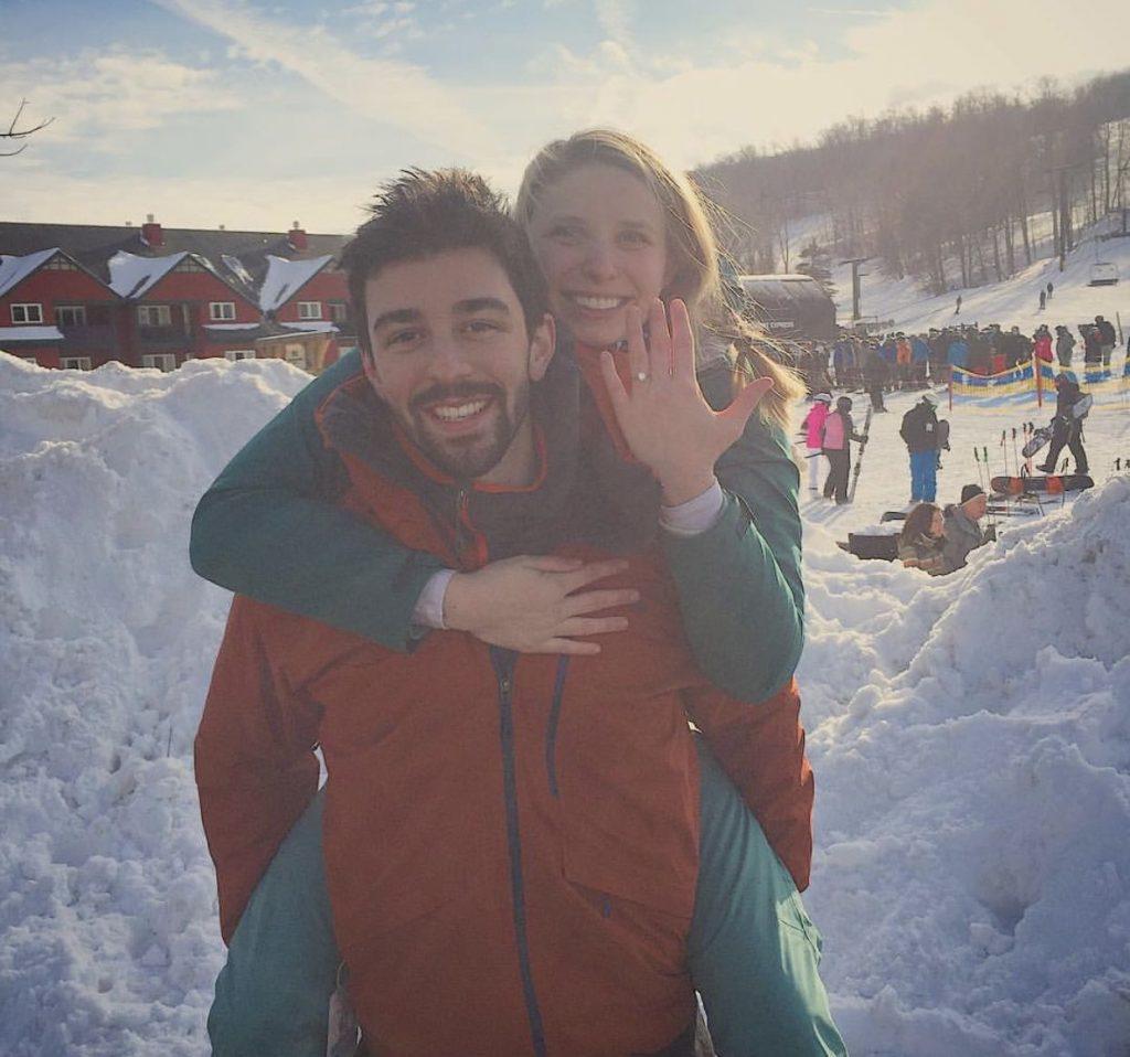 Liz & Tom - Ski Slope Proposal!
