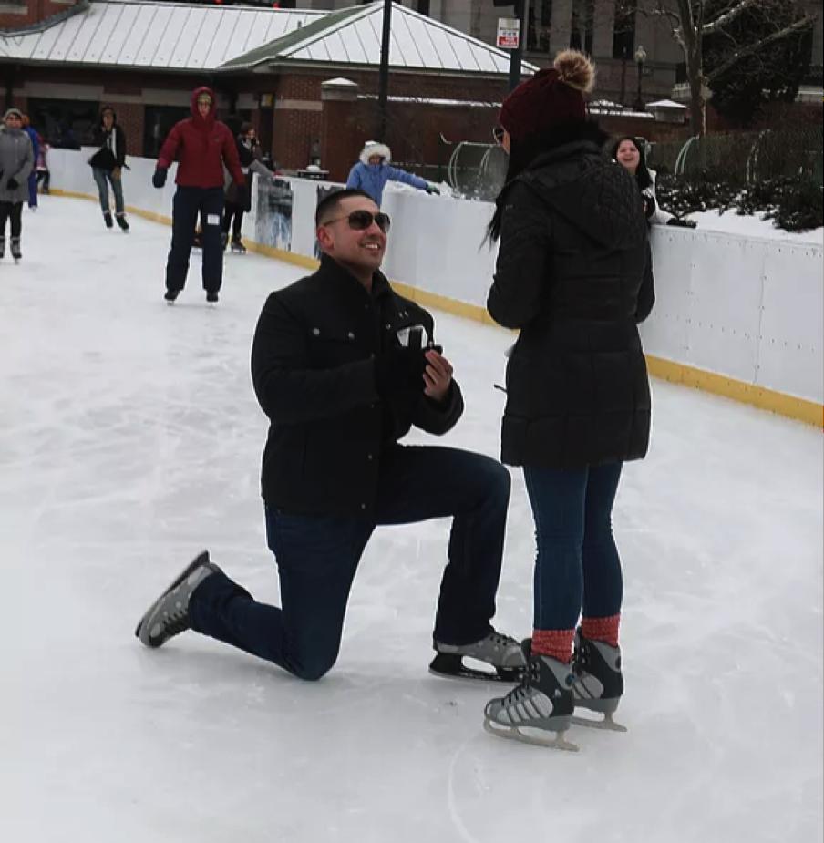 Marissa & Mike - Winter Proposal!