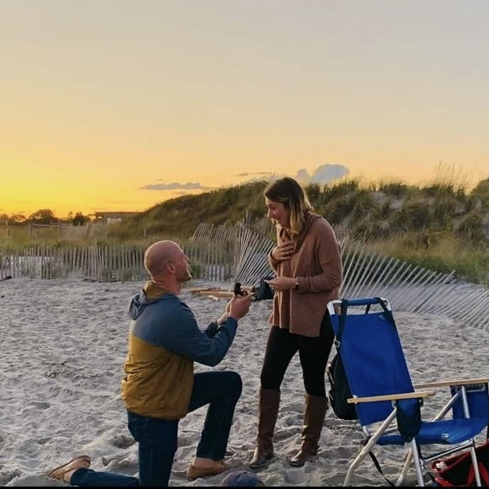 Allie & Michael - Beach Proposal